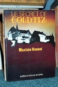 Le secret de Colditz - Guenet Maxime