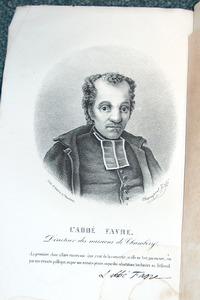 Livre ancien Savoie - Vie de l'abbé J.-M. Favre, fondateur des missions de Savoie - Pont Abbé