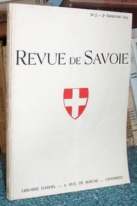 Livre ancien Savoie - 07 - Revue de Savoie n° 2, 2ème trimestre 1942 - Revue de Savoie
