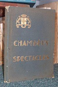 Livre ancien Savoie - Chambéry Spectacles - Central Cinéma