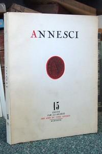 Livre ancien Savoie - Annesci n° 15 - Tourisme et statistiques, Annecy 1890-1967 - Annesci - Jacquier, Pierre