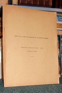 Livre ancien Savoie - Remise de la Croix de Chevalier de la Légion d'Honneur - Naz, Chanoine Raoul