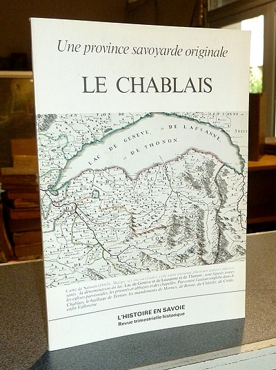 Livre ancien Savoie - Une province savoyarde originale, le Chablais - Baud, Henri