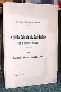 Livre ancien Savoie - Relation de la commission que le Marquis d'Aix a exécutée à la cour... - Marini, Riccardo-Adalgisio. Marquis d'Aix les Bains