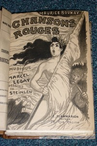 Chansons rouges - Boukay Maurice & Steinlen
