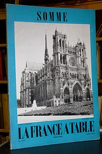 La France à Table, Somme, n° 109, juin 1962 - Revue