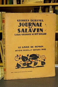 Journal de Salavin - Duhamel Georges