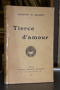 Tierce d'Amour - Krafft, Jacques-G.