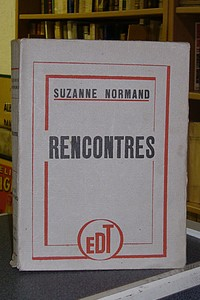 Rencontres - Normand Suzanne