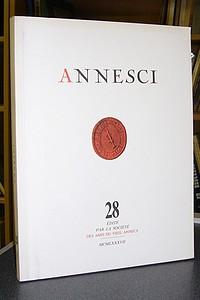 Livre ancien - Annesci n° 28 - Histoire de la photographie à Annecy -... - Annesci - Georges Grandchamp
