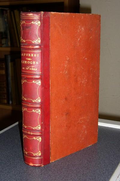 Livre ancien - Limoges au XVIIe siècle - Laforest, M.P.