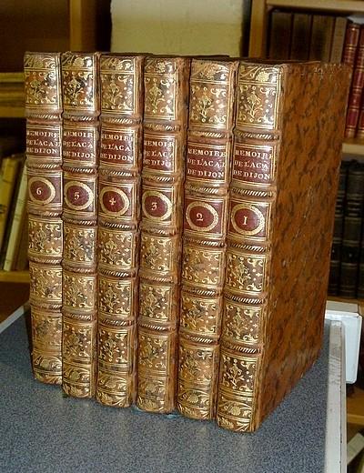 Livre ancien - Nouveaux Mémoires de l'Académie de Dijon pour la partie... - Académie de Dijon