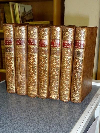 Livre ancien - Recueil amusant de Voyages en vers et en prose, faits par... - Anonyme