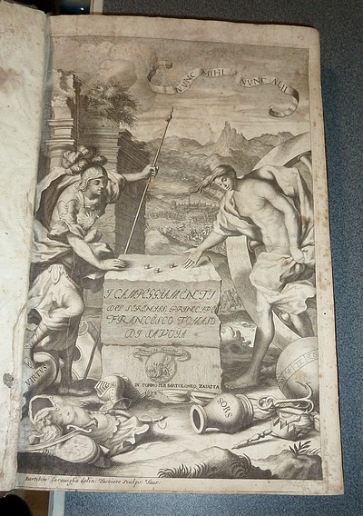 Livre ancien - Campeggiamenti del Serenissimo Principe Tomaso di Savoia,... - Tesauro Emanuel
