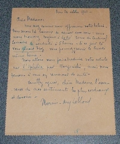 Ecrits sur la littérature coloniale - Marius-Ary Leblond