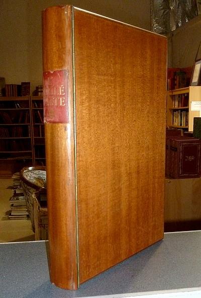 Livre ancien - Le Livre de l'Ecclésiaste (Reliure en bois avec une... - Steinlen