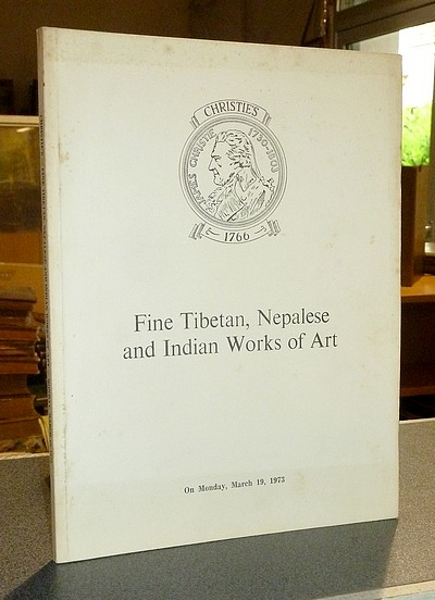Fine Tibetan, Nepalese and Indian Works of Art. Christie's, March 19, 1973 -