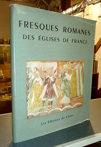 Fresques Romanes des églises de France -