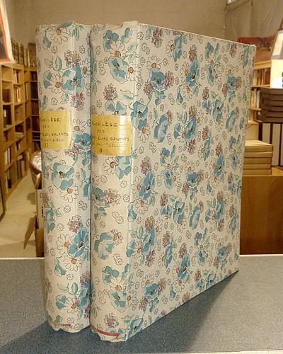 Livre ancien - Florilège des conteurs galants du XVIIIième siècle (2... - Bagarry, Adrien & Diderot & Caylus, Comte de & Bernis, Cardinal de & Collectif