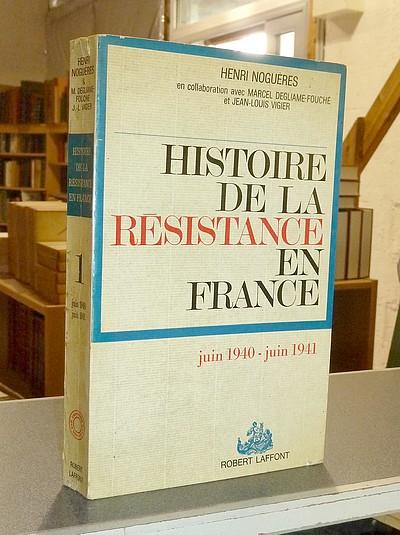 Le Beau Livre Nogueres Henri Histoire De La Resistance