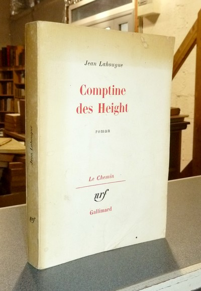 Comptine des Height - Lahougue, Jean