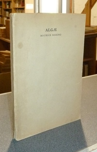 Algae, an anthology of phrases - Baring, Maurice