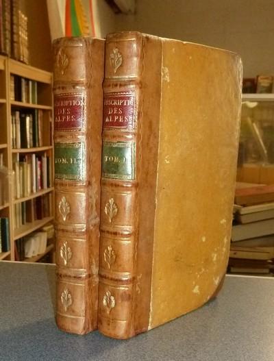 Livre ancien - Description des Alpes Pennines et Rhétiennes dédiées à... - Bourrit, M. T. (Marc Théodore)