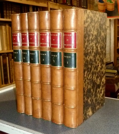 Oeuvres de Lord Byron (6 volumes avec gravures) - Byron, Lord