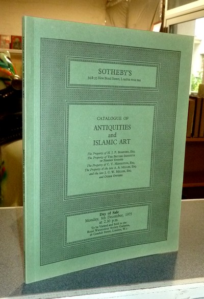 Catalogue of Antiquities and islamic art. London, 8th december, 1975 -