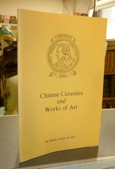 Chinese ceramics and works of art. Christie's January 29, 1973 -