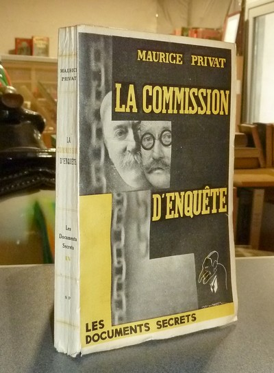 La commission d'enquête - Privat, Maurice